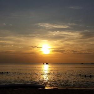 Sunset on Long Beach, Phu Quoc, Vietnam