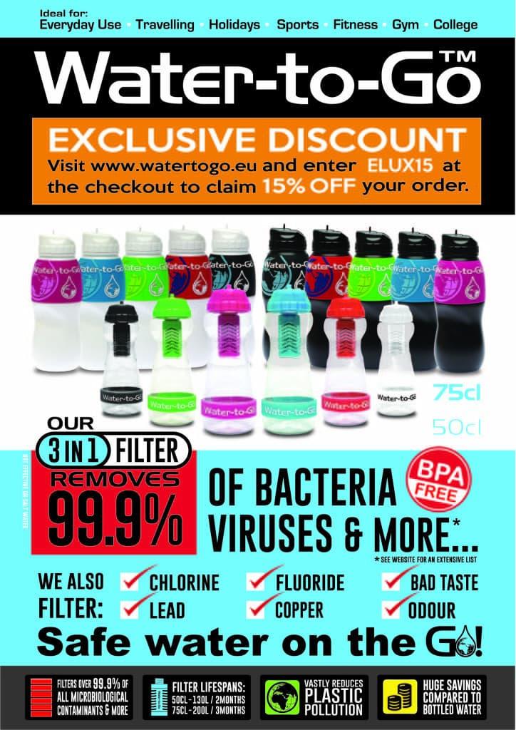 Water to Go discount code