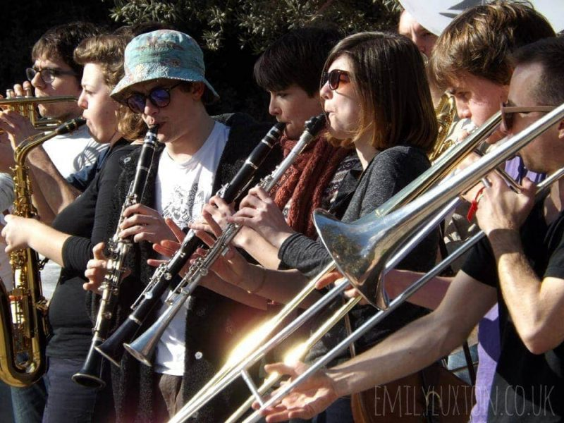 Wind band, Athens