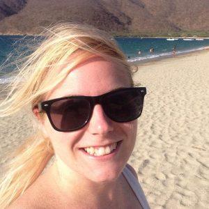 Beach selfie, Me at Bahia Concha, Colombia