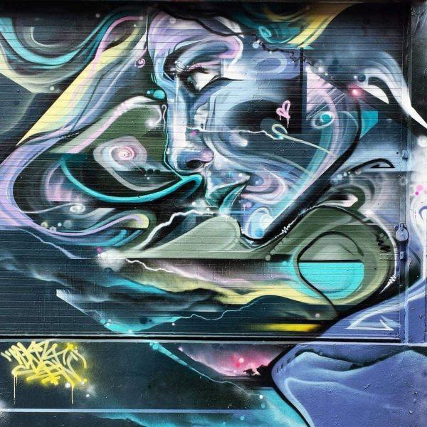 Mr Cenz mural in E1