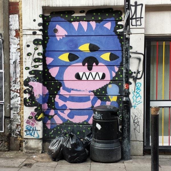 Purple Cat on Cheshire Street