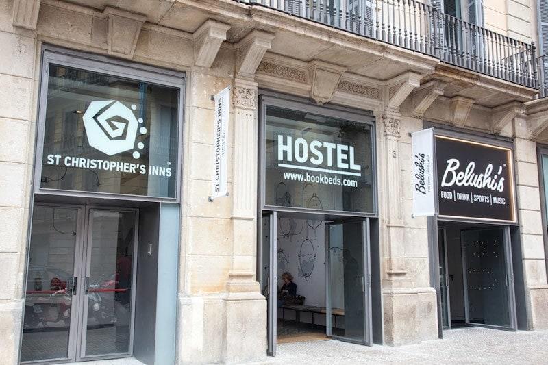St Christophers Inn Barcelona