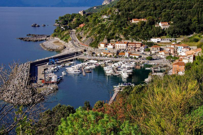Maratea Italian marina village