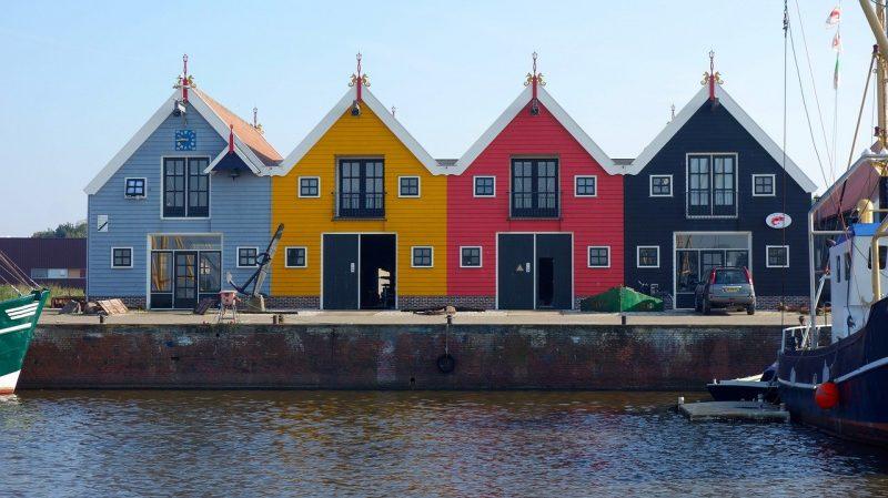 Reitdiephaven Groningen cottages