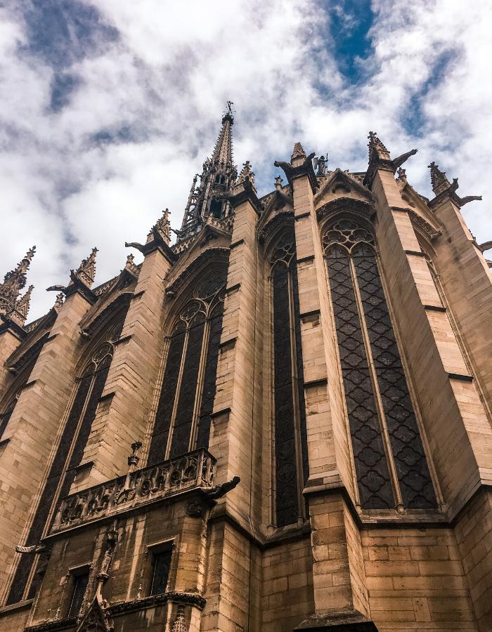 St Chapelle Church Exterior