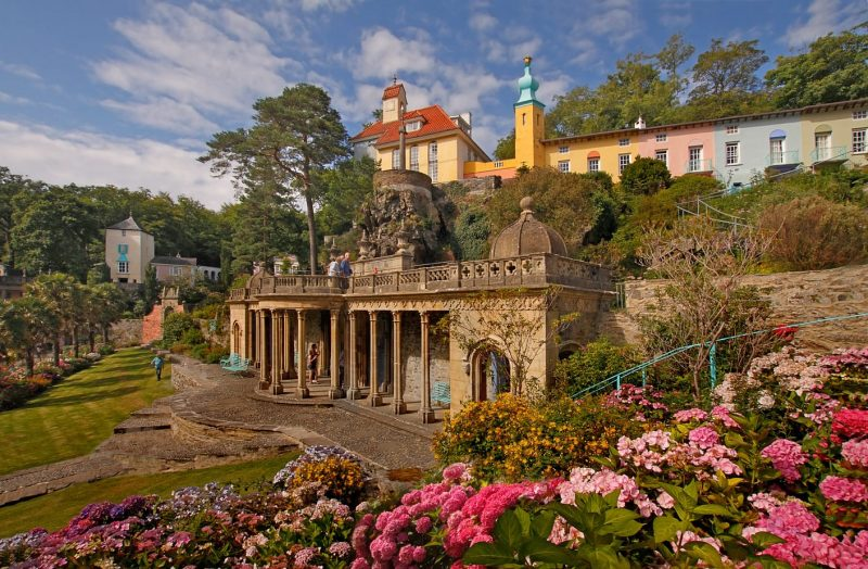Portmeirion Wales - Romantic Destinations in the UK