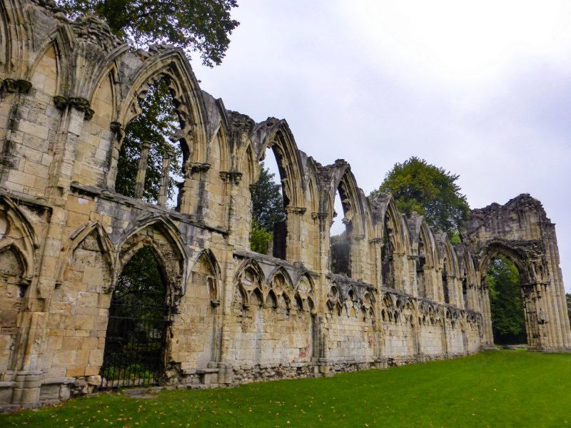 romantic places in the UK: York