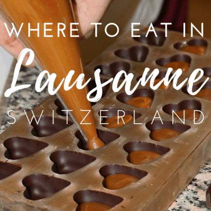 Best Restaurants in Lausanne