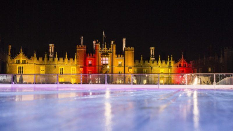 london christmas ice skating
