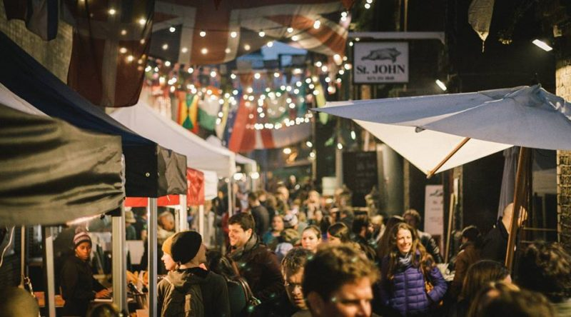 Maltby Street Night Market London