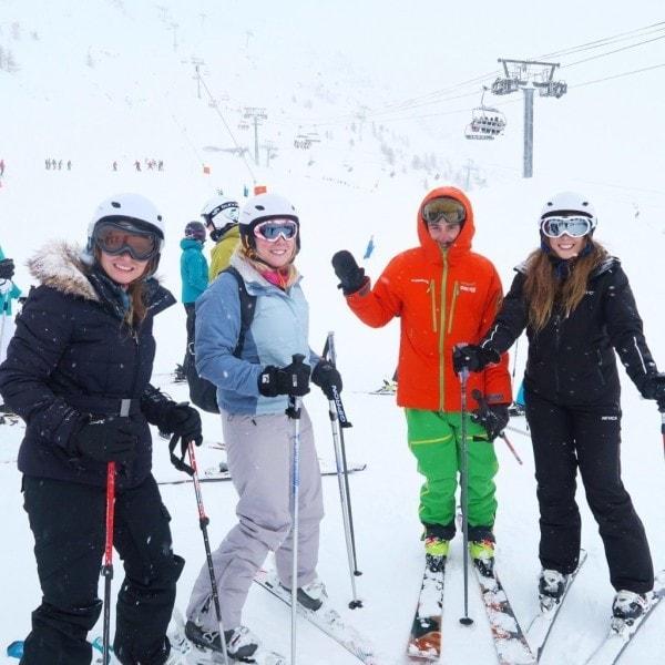 Learning to Ski in Tignes