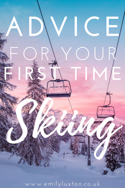 Advice for your first time skiing