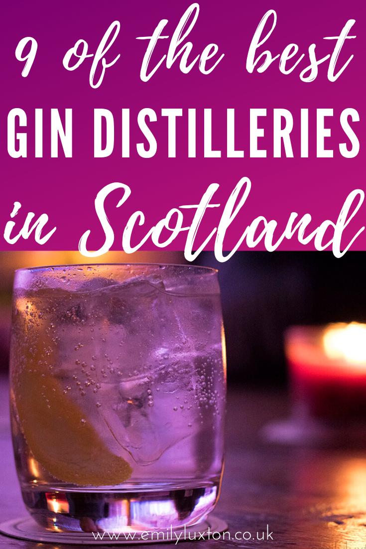 Best Gin Distilleries in Scotland