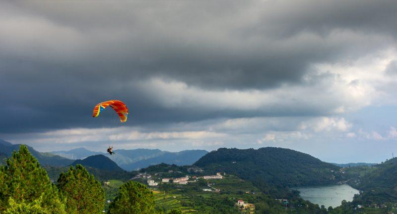 Paragliding Uttarakhand India