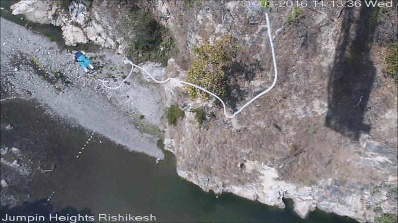 Bungee Jumping in Rishikesh
