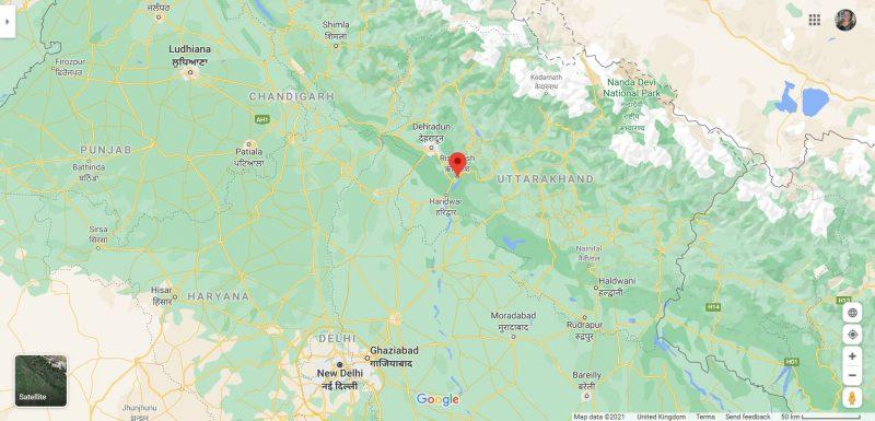 Where is Rishikesh