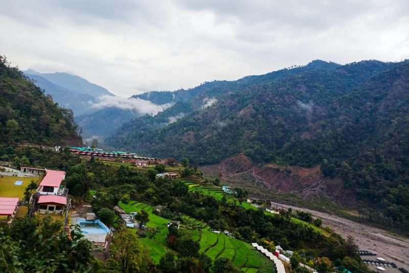 hiking Uttarakhand India