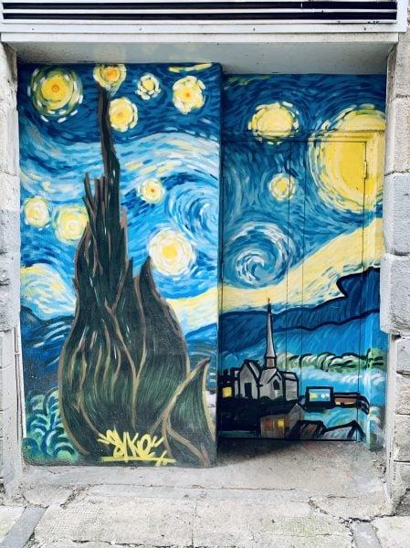 Open Close Project Street Art Dundee