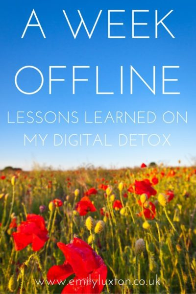 Five Surprising Things That Happened on My Digital Detox