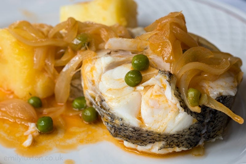 Traditional Galician seafood dish