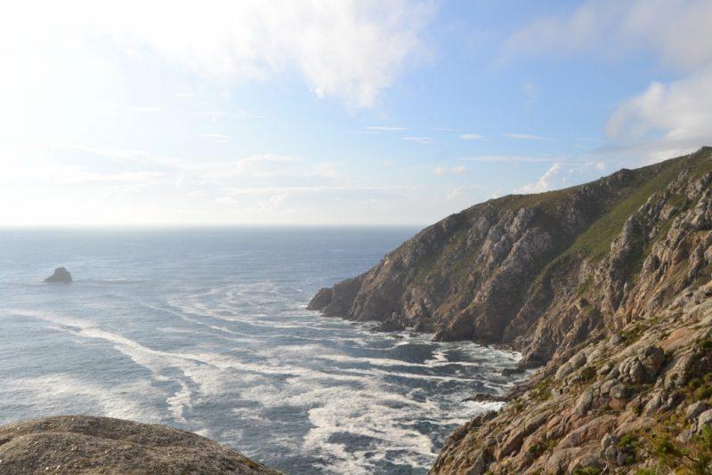 Coast in Galicia Spain