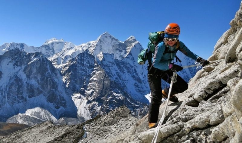 Interview with a Female Mountaineer