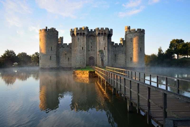 Bodiam Castle Things to do near Eastbourne
