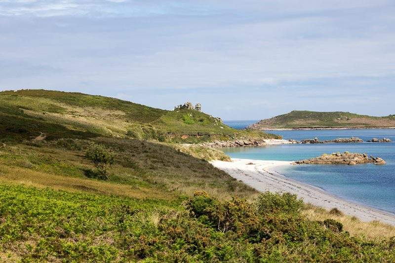Scilly Isles Cornwall - best places to visit on south coast of england