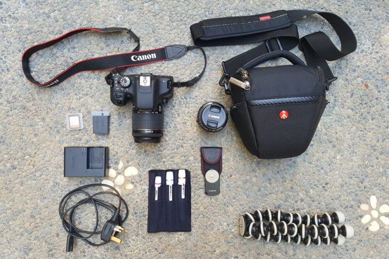 Essential gear for travel photography
