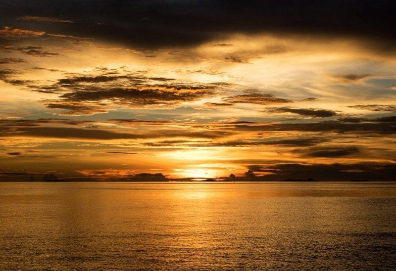 Raja Ampat sunset indonesia