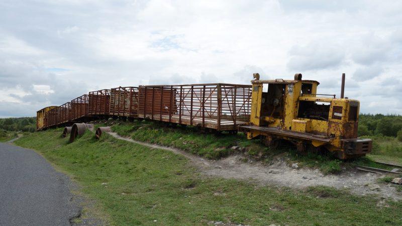 Hidden Gems in Europe - Sky Train Lough Boora
