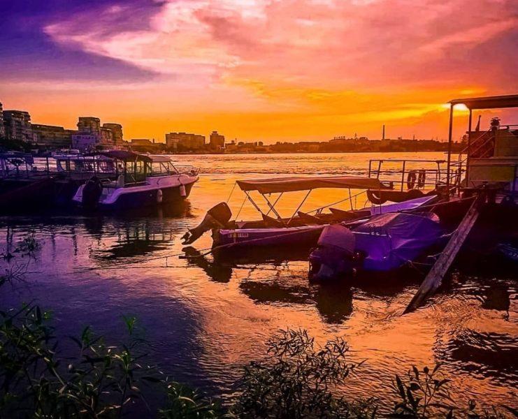 Tulcea Harbour Danube Delta