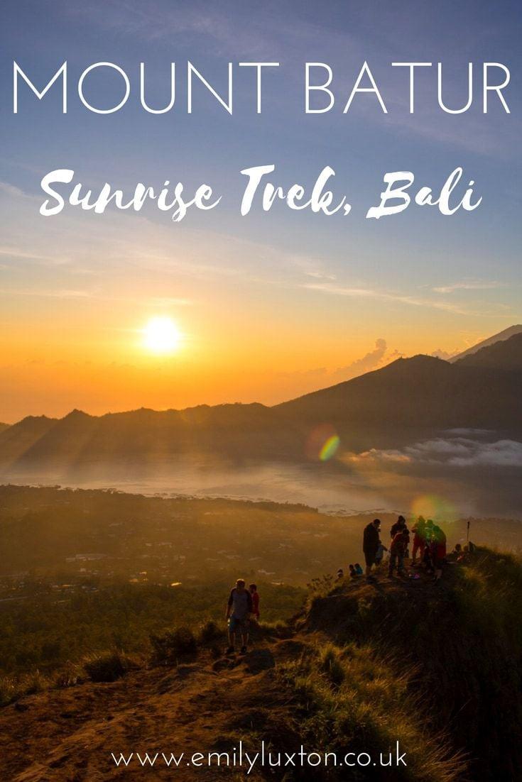 Mount Batur Sunrise Trek, Bali