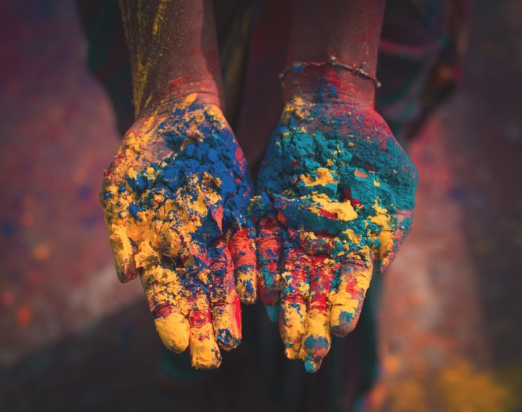 Girl's Guide to Celebrating Holi in India