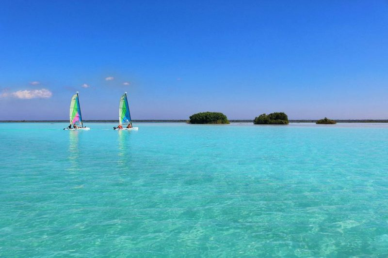 Lake Bacalar Mexico