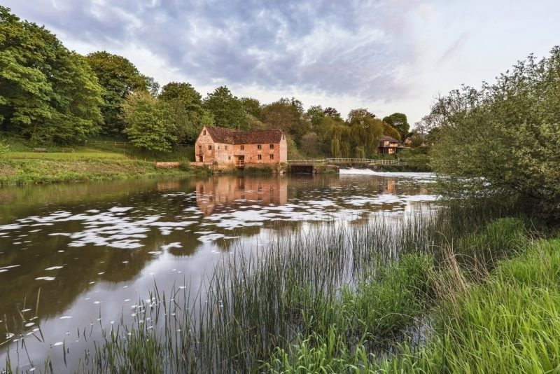 Sturminster Newton Mill in Dorset England