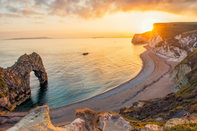Durdle door is one of the best things to do in dorset