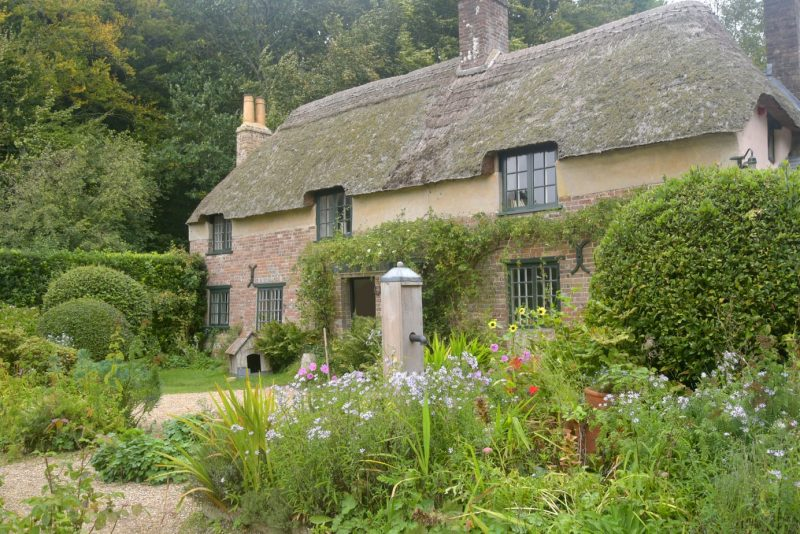 Thomas Hardy cottage near Higher Bockhampton in Dorset