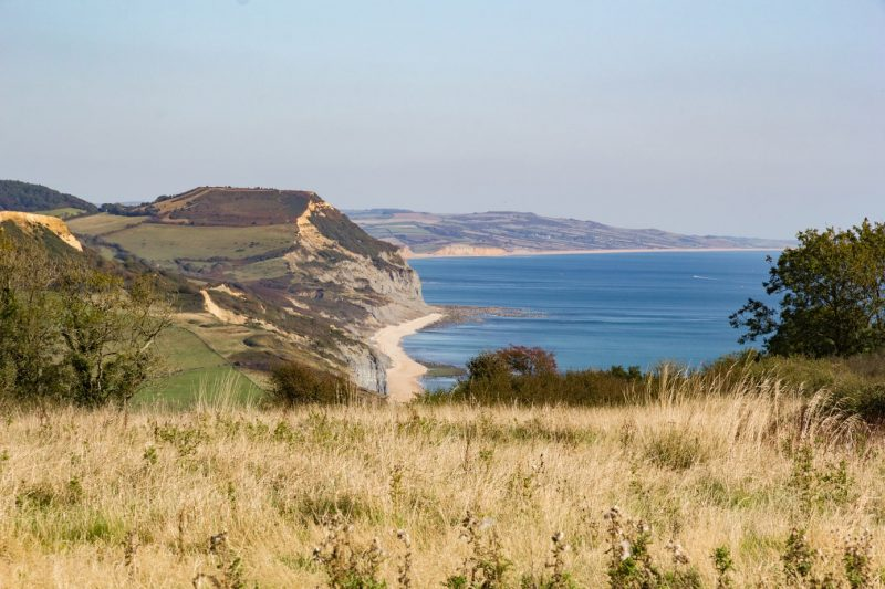 Golden Cap Dorset England