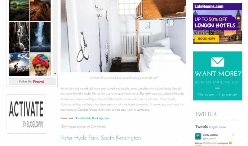 how to make money travel blogging