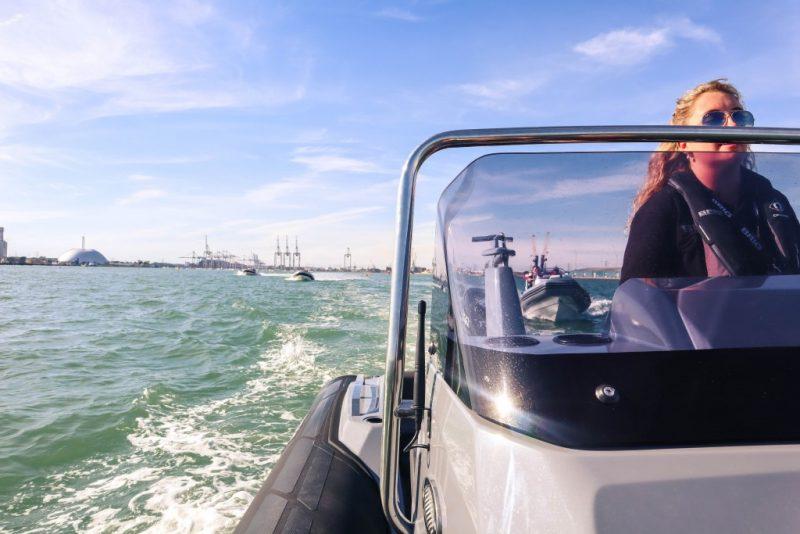 RIB ride solent Southampton