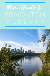 Mini Guide to Edmonton