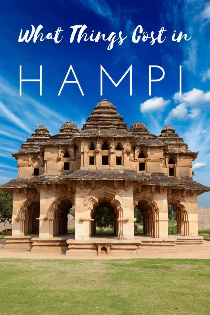 What Things Cost in Hampi