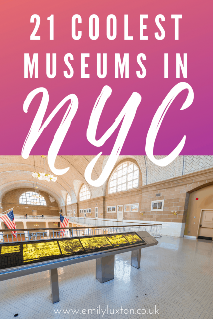 21 of the Coolest Museums in NYC