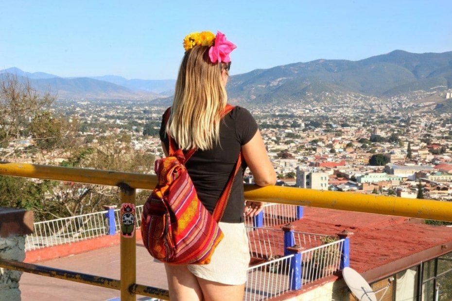 Girl in Oaxaca Mexico