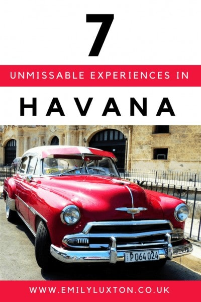 7 Unmissable Things to do in Havana