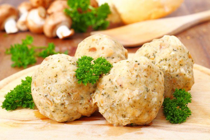 Speckknödel - dumplings - traditional tyrolean food