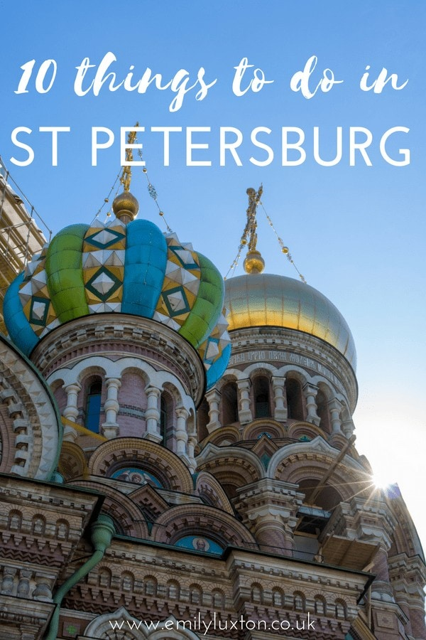 Highlights of St Petersburg with Princess Cruises