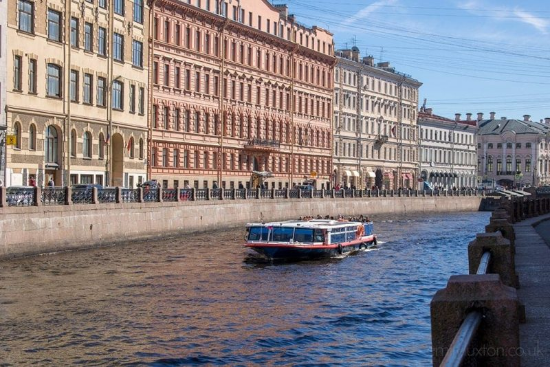 canal boat tour st petersburg